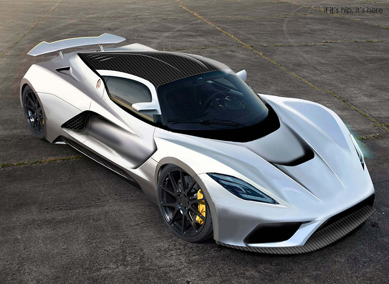 Hennessey Targets A Top Speed Of 290 Mph With The Hennessey Venom F5   If  Itu0027s Hip, Itu0027s Here