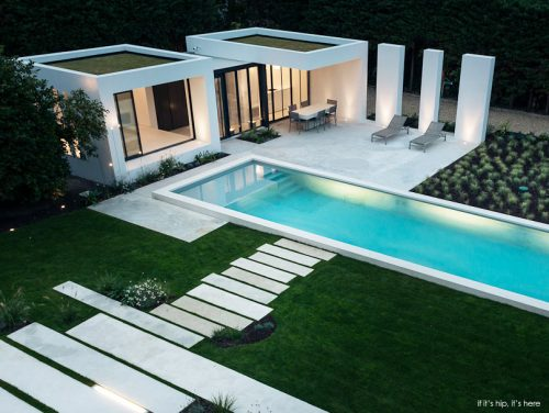Read more about the article Modern Pool House in Basque Country by Atelier DC and Architects Marso6