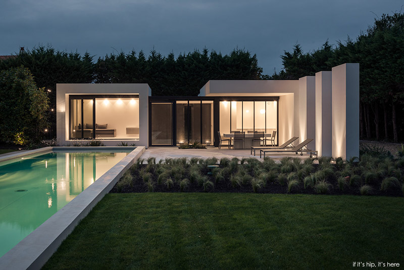 Basque Country pool house