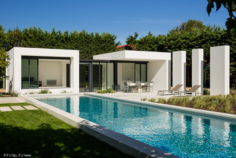 Modern Pool House gorgeous modern pool house in basque countryatelier dc