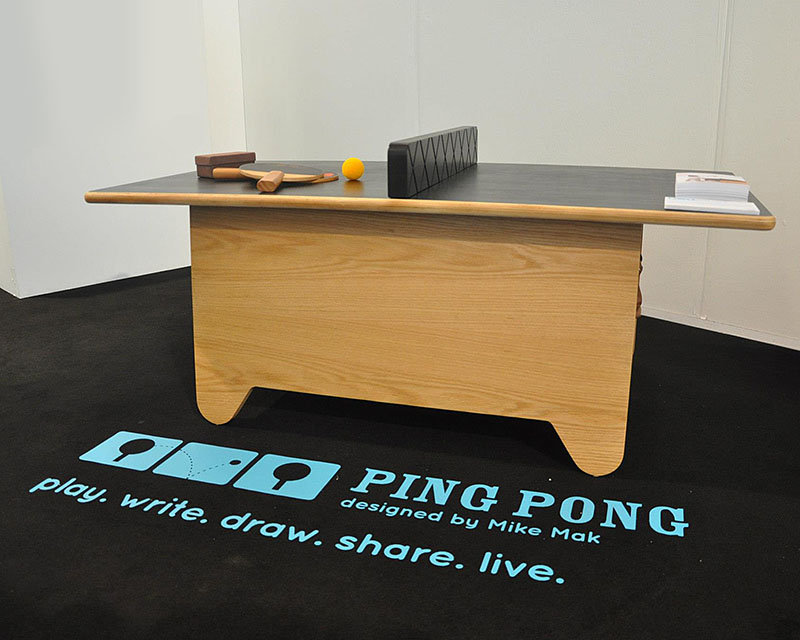 children's ping pong table