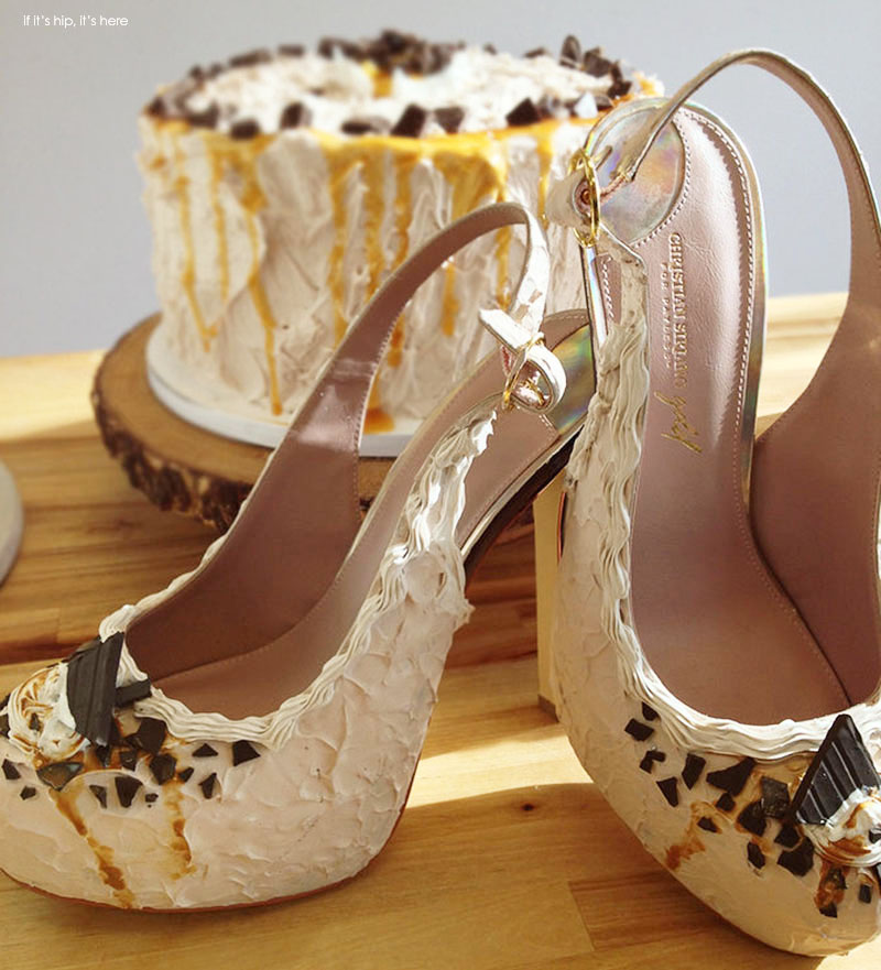 Chocolate And The Red Shoe