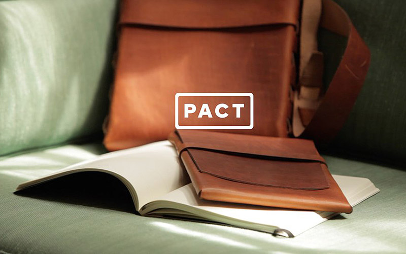 Pact leather goods