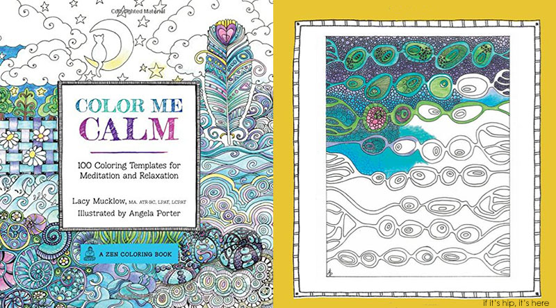 Calm Happy Colors Color me Calm 100 Coloring