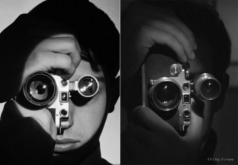 portrait of dennis stock by andreas feininger and recreation IIHIH