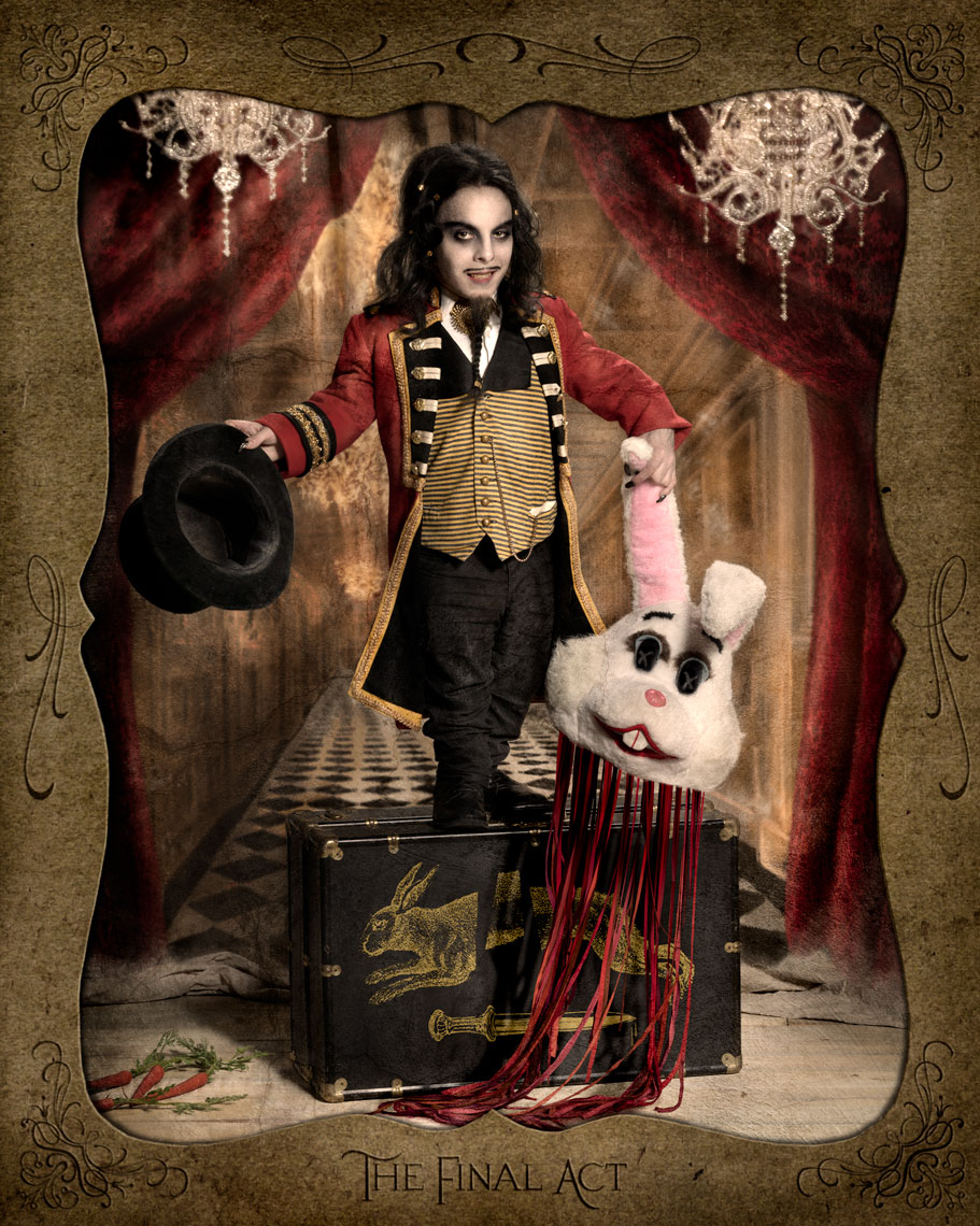 Side Show Portraits by Ransom & Mitchell