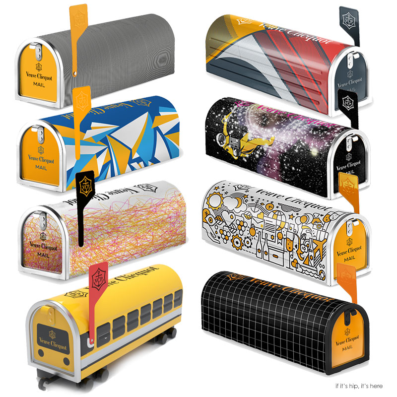 8 clicquot mailbox submissions IIHH