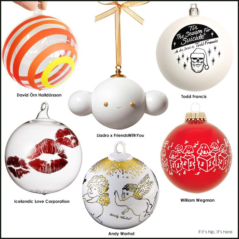 Limited Edition Artist Ornaments