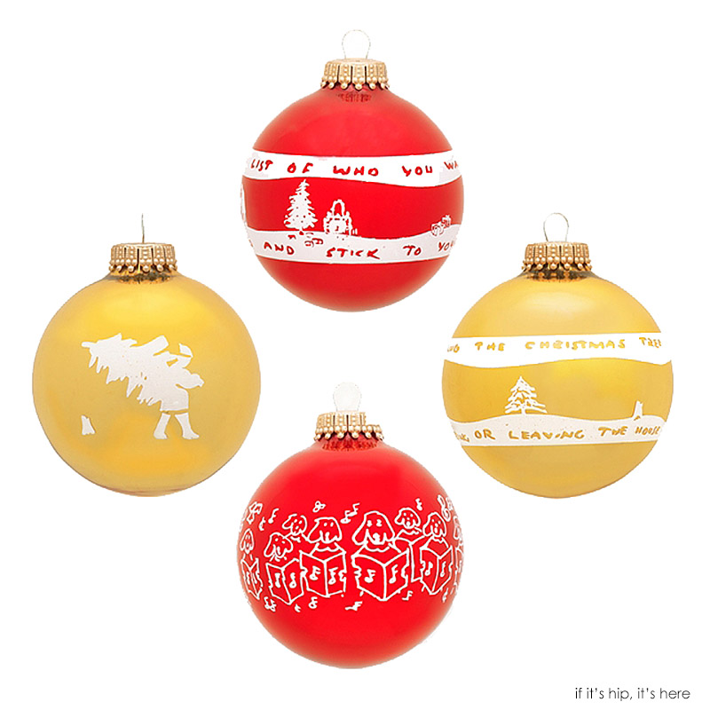 37 Limited Edition Artist Christmas Ornaments Turn Your Tree Into ...