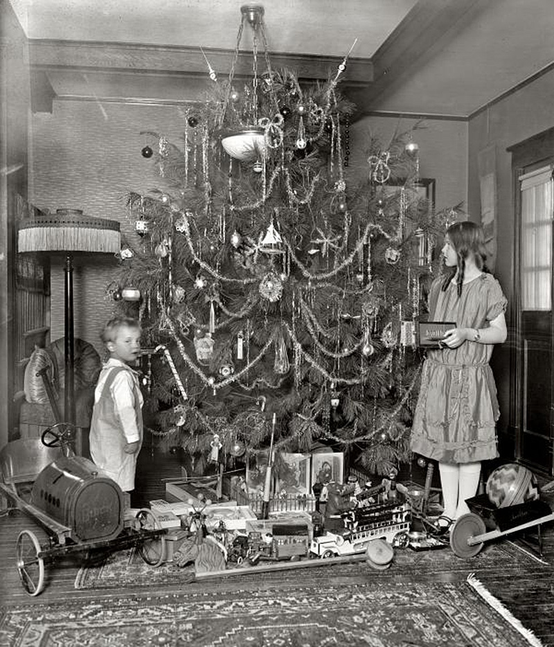 20 Great Vintage Christmas Photos From The Early 1900s ...