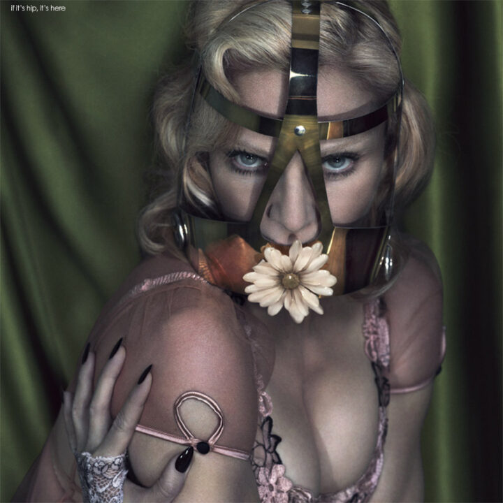 A Risqué Madonna for Interview Magazine. 15 Fab Photos by Mert & Marcus.