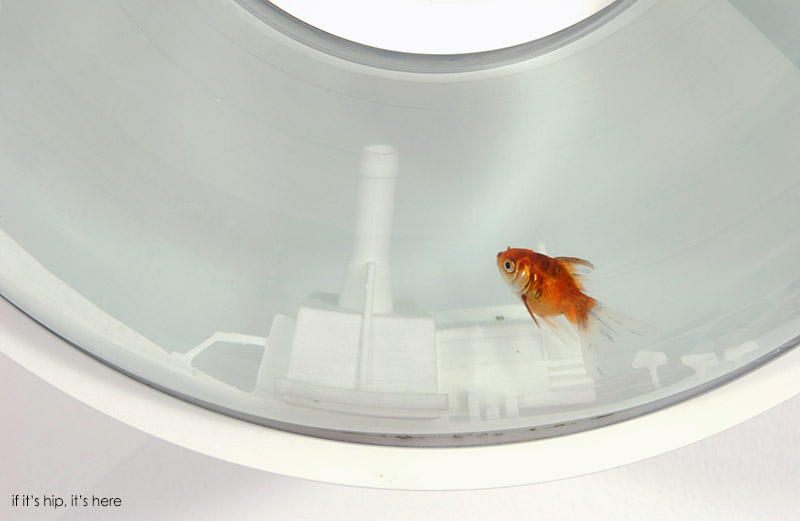 A Revolving Fish Tank The Flying Fish Bowl By Raw Edges