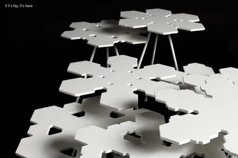 Snowflakes tables OFFECCT