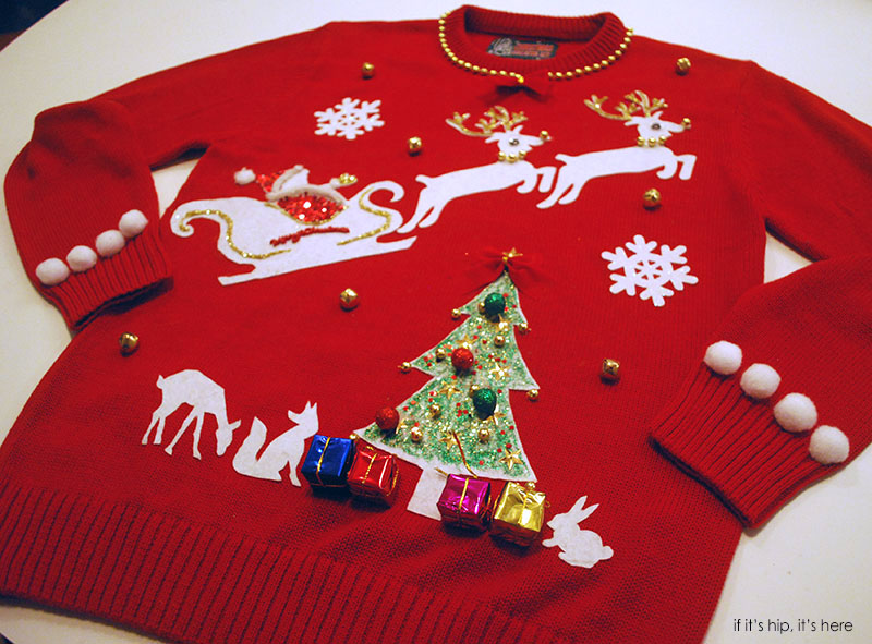 The Ugly Christmas Sweater Kit is the Ultimate DIY Project for the ...