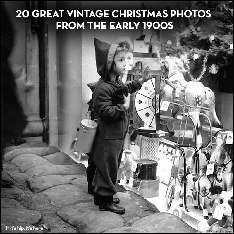 Vintage Christmas Photos From The Early 1900s