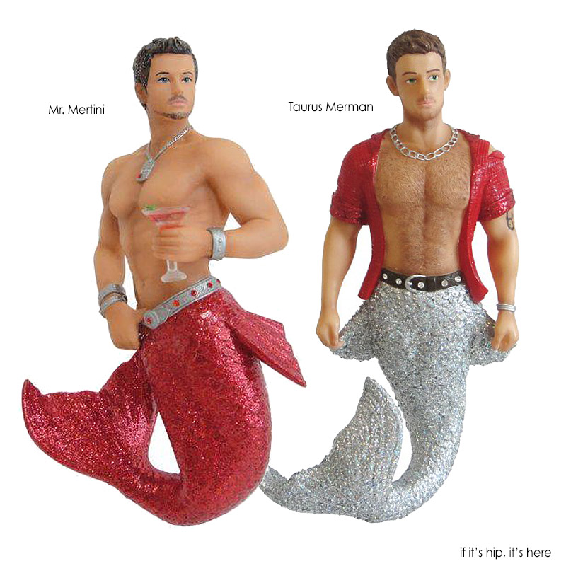 mermen ornaments 1