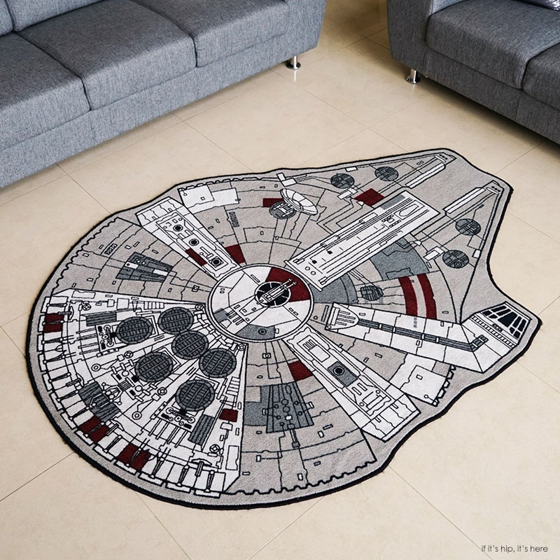 Geek Decor The Millenium Falcon Or The Uss Enterprise
