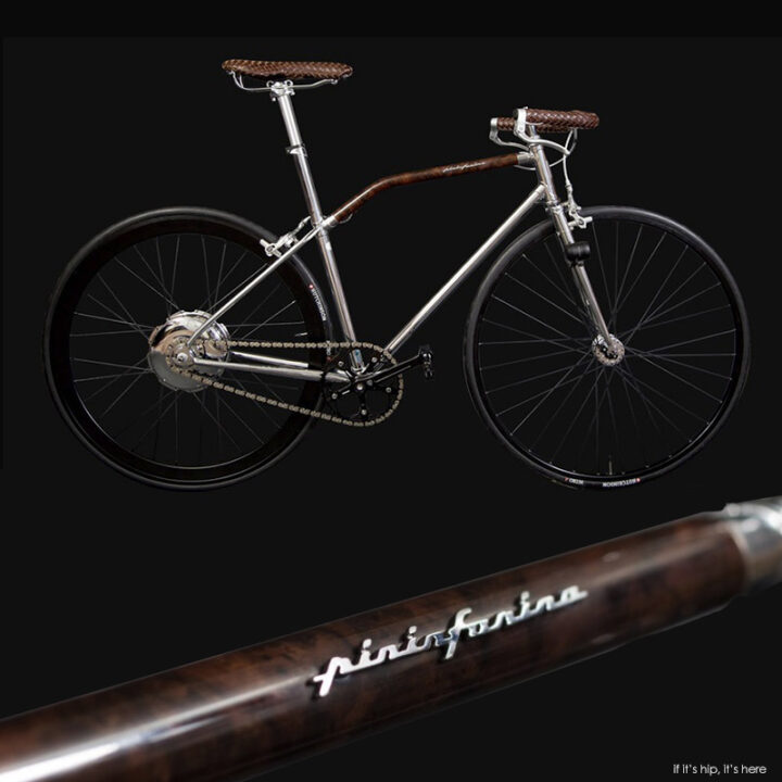 The Limited Edition Pininfarina Fuoriserie Bike With Electric Engine.