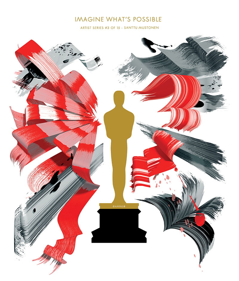 Oscars Art Series Artists Create Posters For The 87th