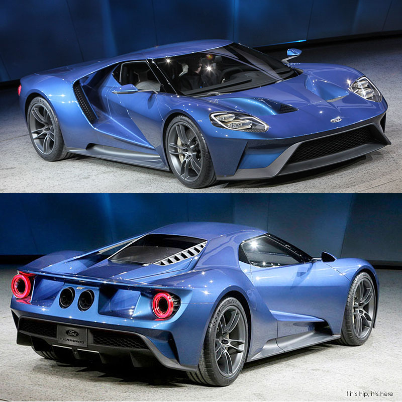 New Ford GT Wins Best Production Car at 2015 NAIAS