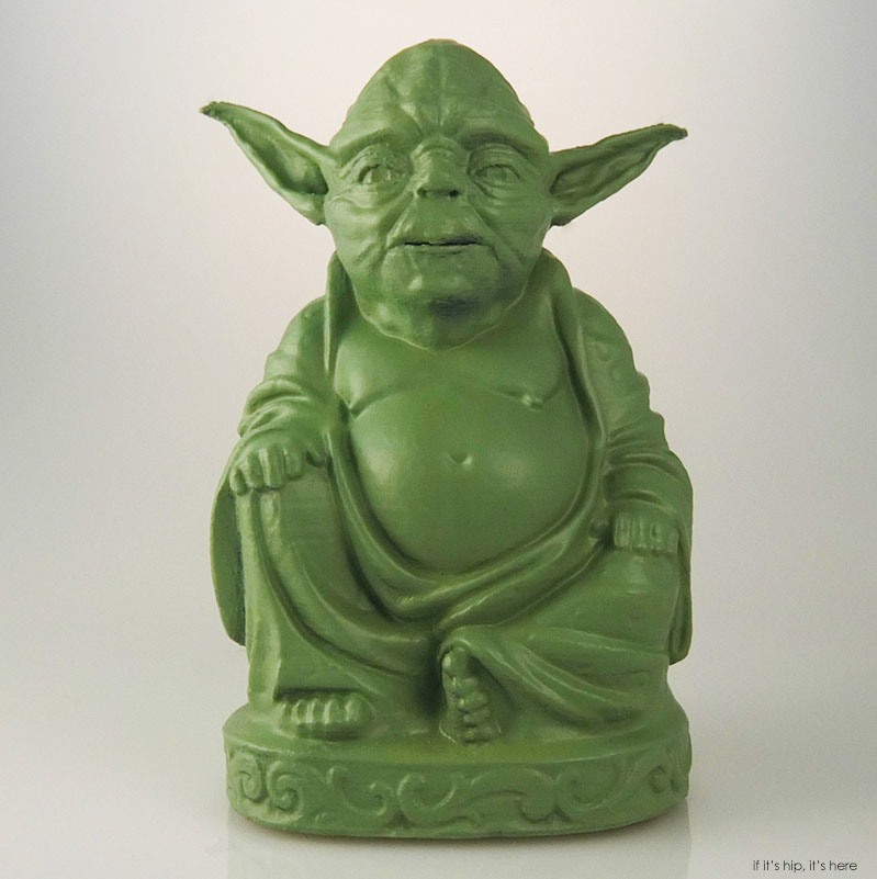 star wars buddhas big bellied zen versions of darth yoda more if it 39 s hip it 39 s here. Black Bedroom Furniture Sets. Home Design Ideas
