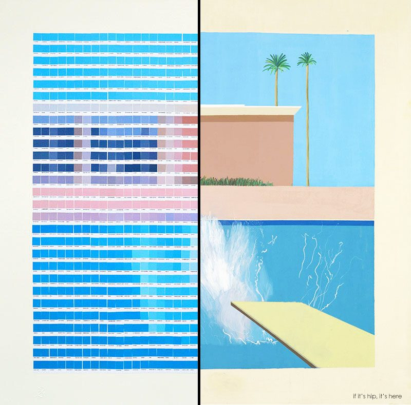 Fine Art Done With Custom Pantone Chips