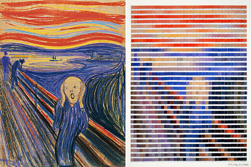 Edvard Munch The Scream Side By Side Nick Smith Iihih If