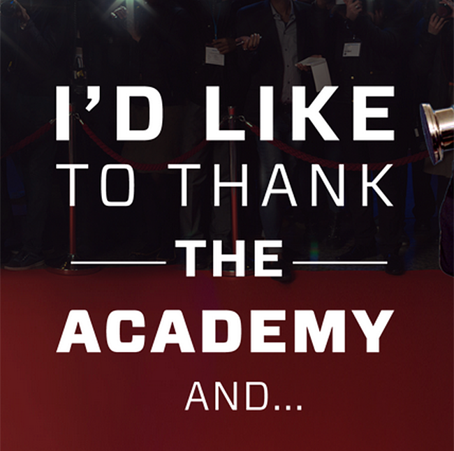 Who Gets Thanked The Most In Oscar Speeches