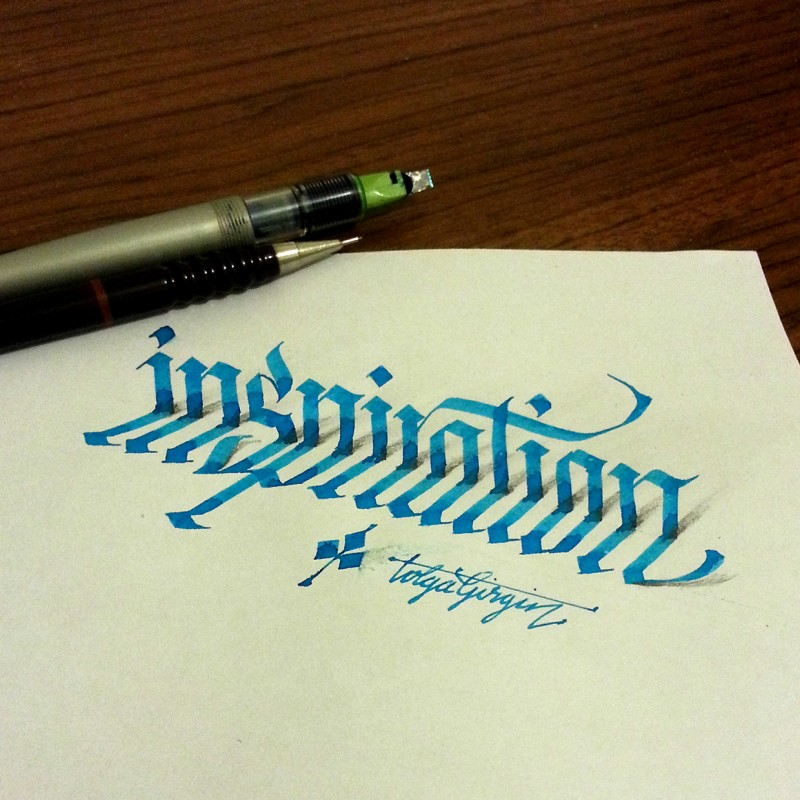 A Turkish Electrical Engineer Creates 3d Lettering With