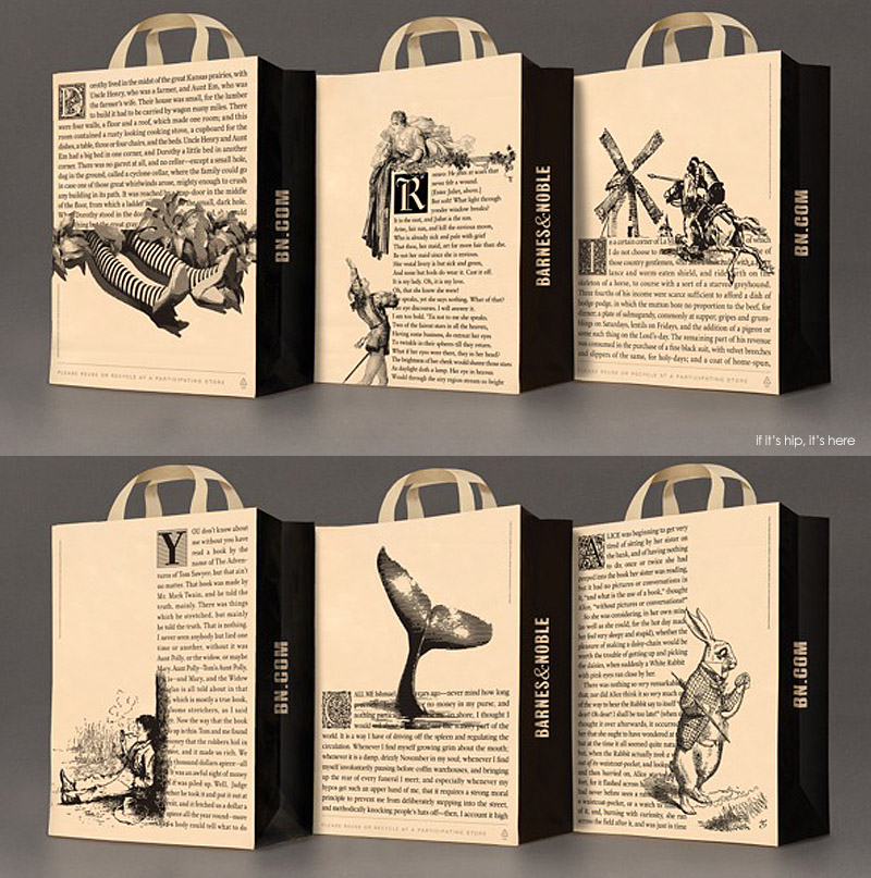 New Packaging For Barnes Noble Highlights Content Over Brand