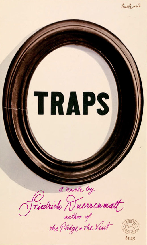 Traps book cover design by Paul Rand