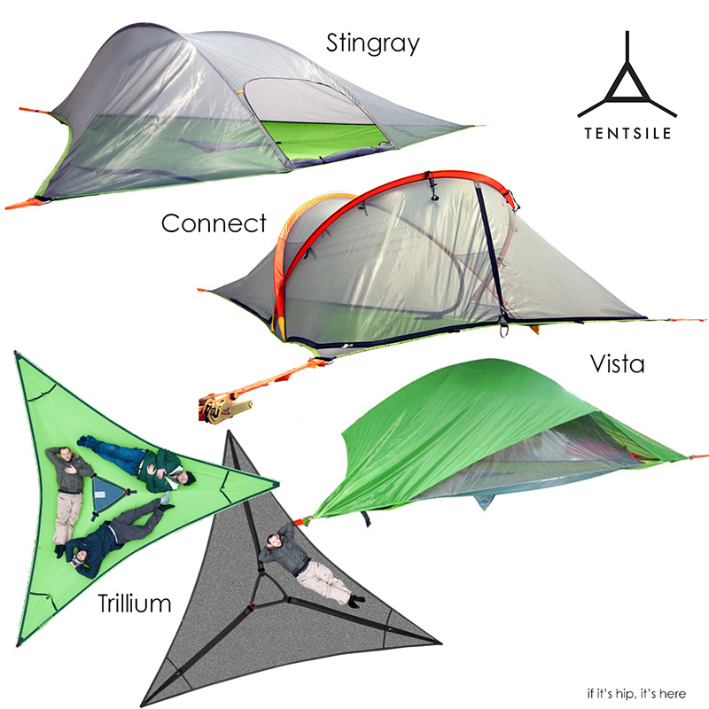 Tentsile Tree Tents Take C&ing To A New Level - if itu0027s hip itu0027s here  sc 1 st  If Itu0027s Hip Itu0027s Here & Tentsile Tree Tents Take Camping To A New Level - if itu0027s hip ...
