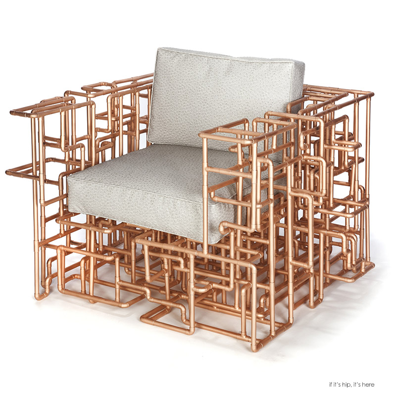Rollins Chair: The American Pipe Dream Chair By BRC Designs