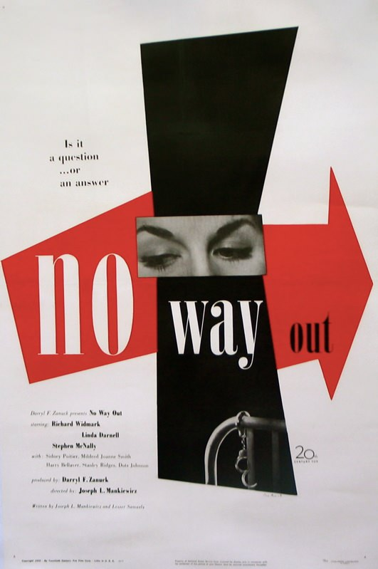 no way out poster paul rand