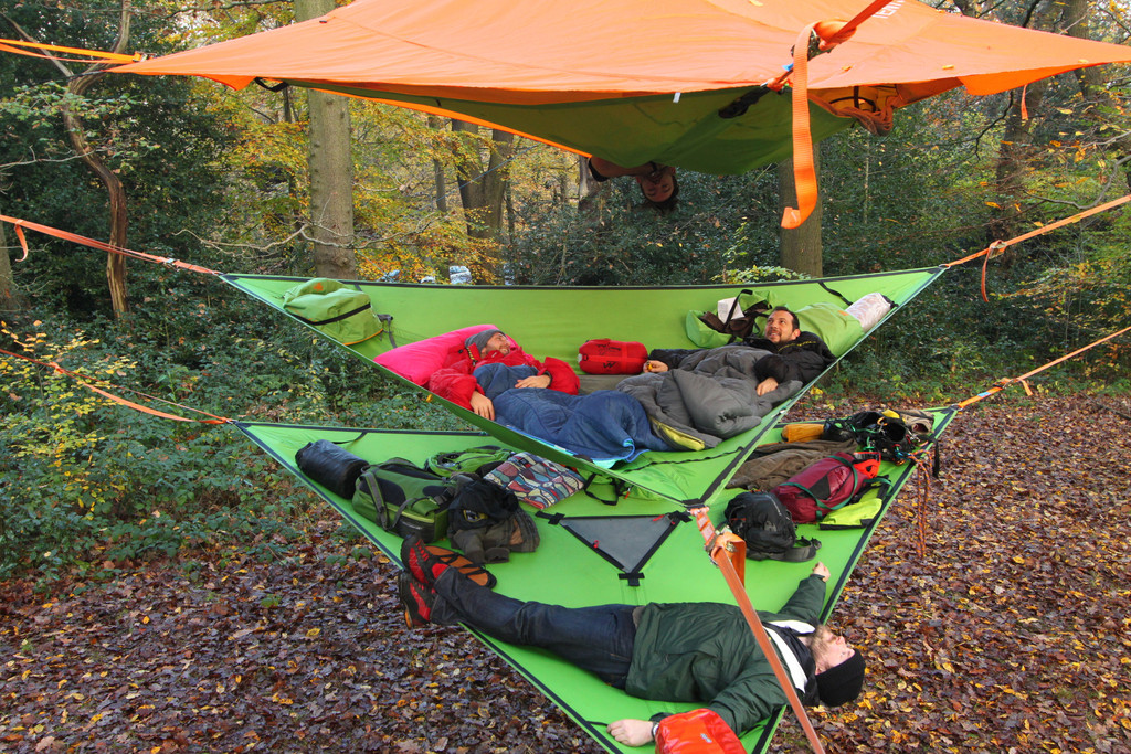 Tentsile Tree Tents Take C&ing To A New Level - if itu0027s hip itu0027s here & Tentsile Tree Tents Take Camping To A New Level - if itu0027s hip ...