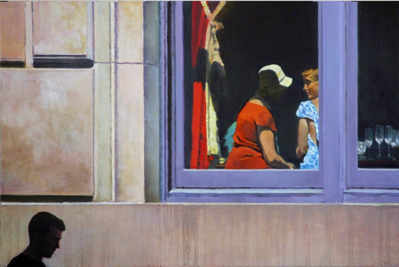 Inside Out oil on panel 16x24 inches
