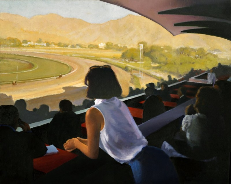 Winning Ticket oil on panel 16x20 inches