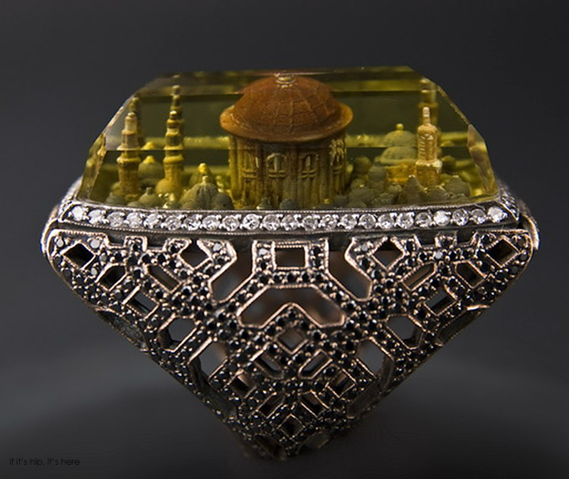 hand carved rings from istanbul