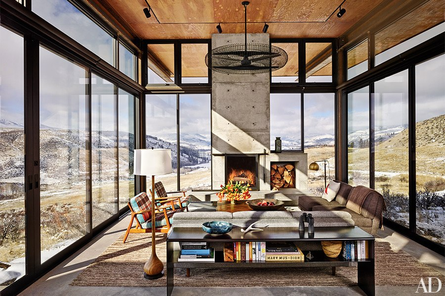 Olson kundig architects 39 studhorse wins 2015 aia housing for Mountain home glass