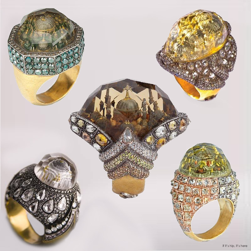 Mosque Rings by Sevan Bicakci