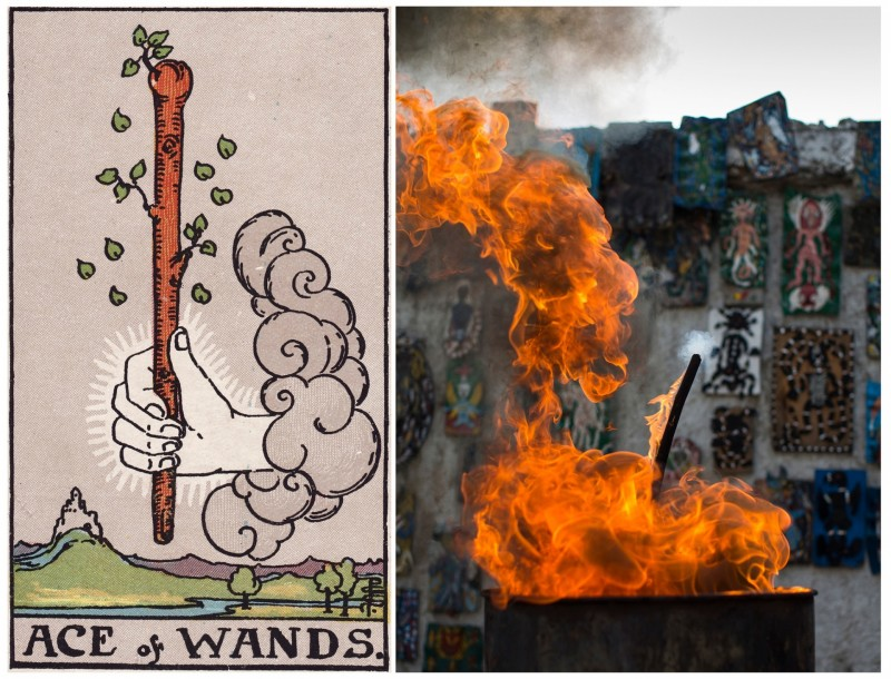 GT Ace of wands