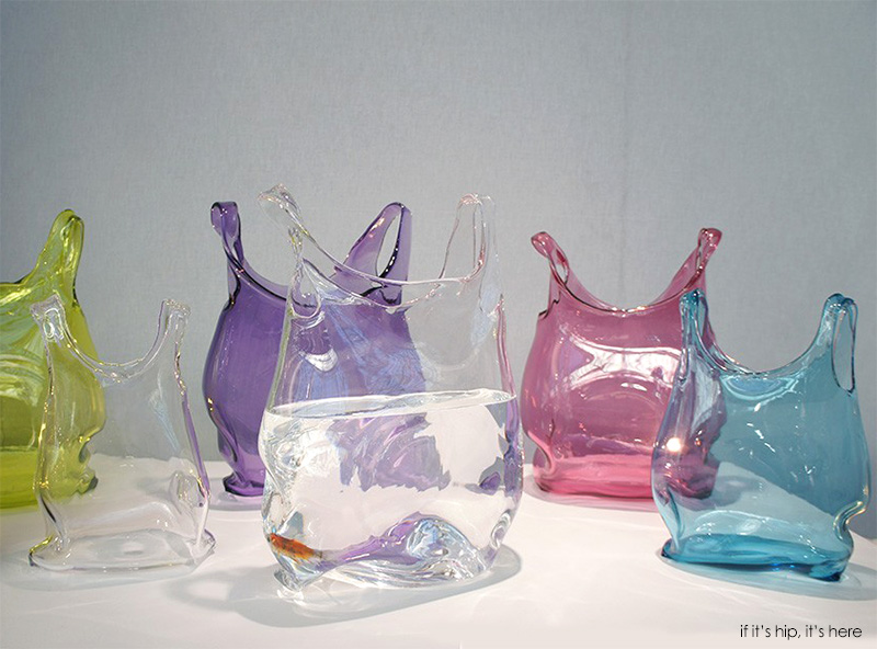 colored and clear glass bags on table IIHIH