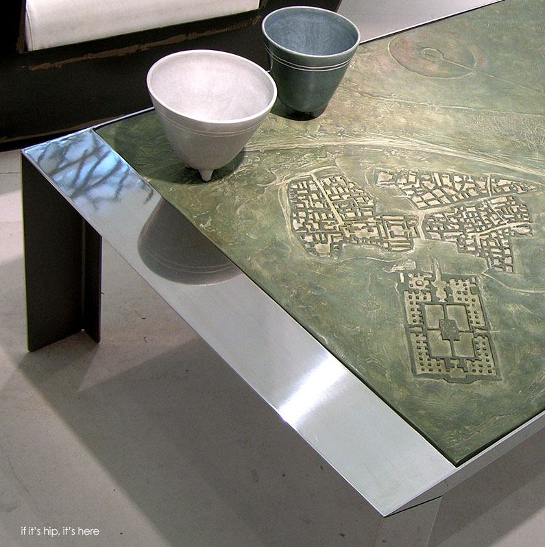 furniture with maps