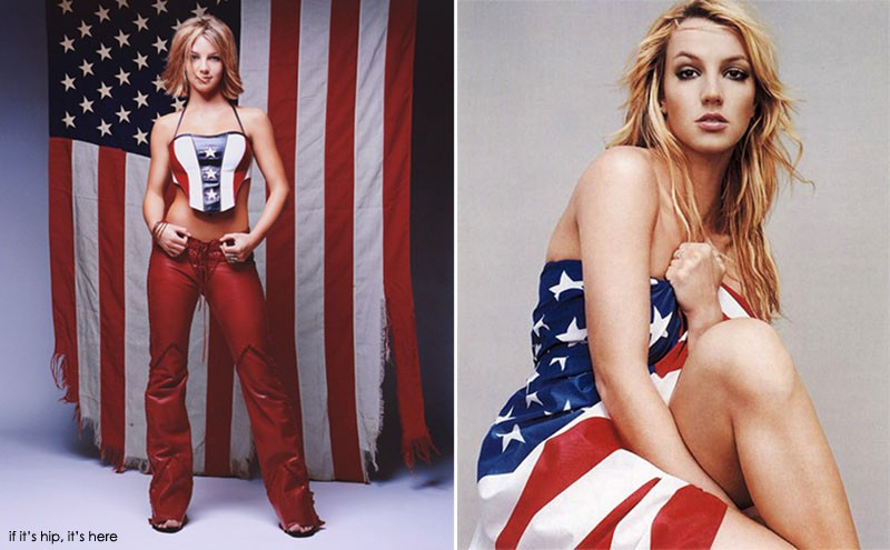 Britney Spears: (for Rolling Stone, 2000 and Rock The Vote, 1990)