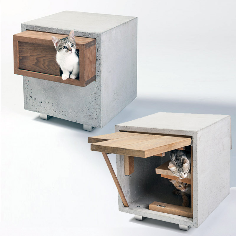 Standard Architecture cat house for fix nation