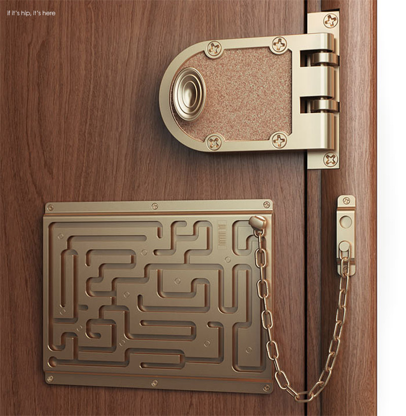The Brilliant Maze Door Chain Lock Finally Comes To Life
