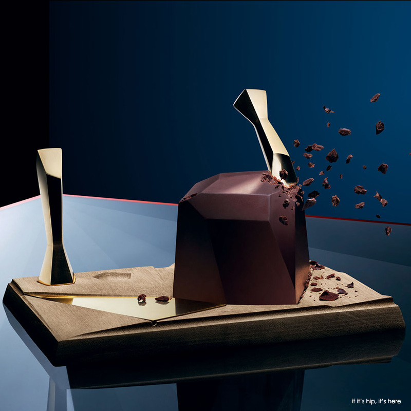 Carved Chocolate Set by Studio Appetit and Oialla
