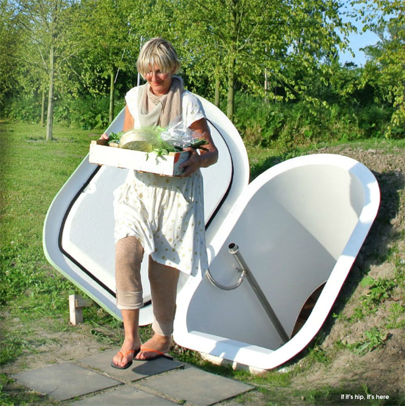 & Weltevree Groundfridge Is A Pre-Fabricated Underground Cellar
