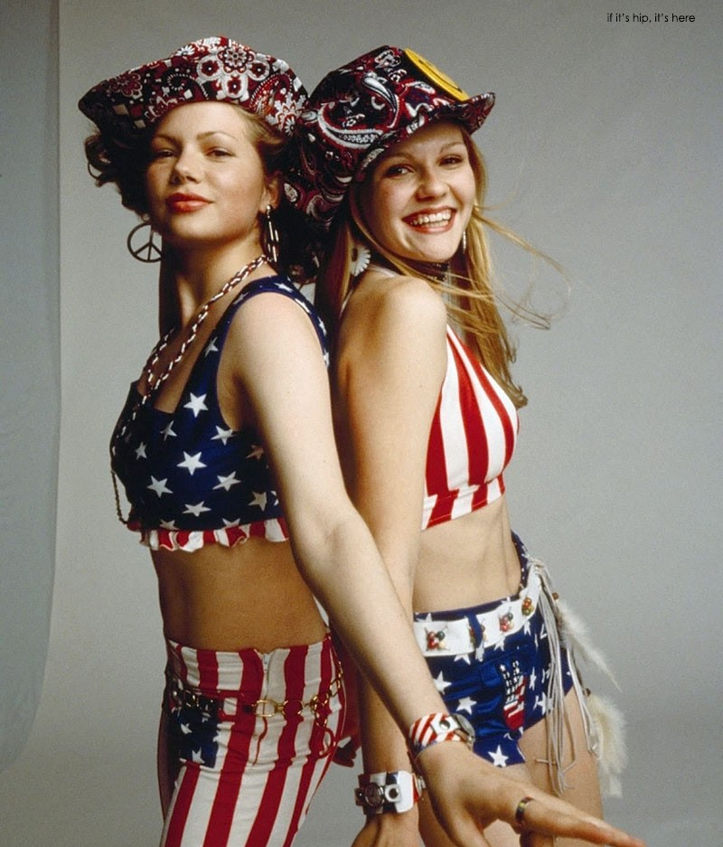 Michele Williams and Kirsten Dunst