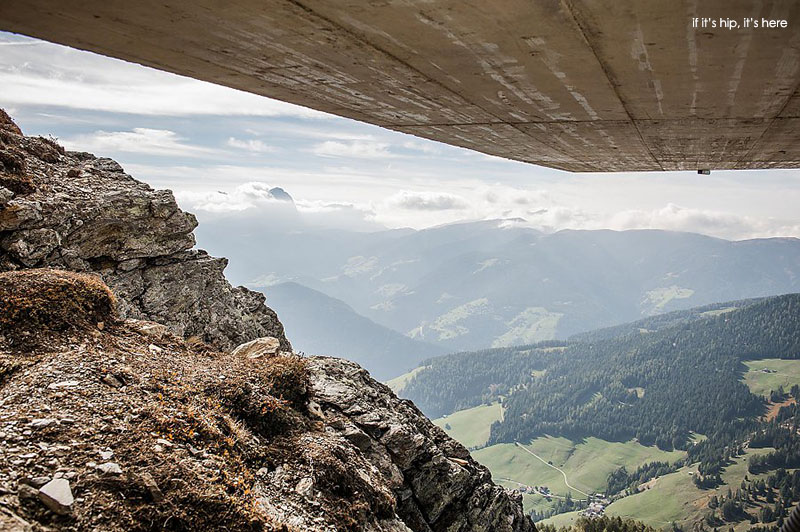view from Messner Mountain Museum by Zaha Hadid Architects - if it's hip, it's here